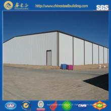 Hangars de structures en acier design en acier personnalisé (SS-289)