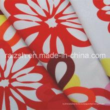 100% полиэфирная микроволокно Twill Water Print Peach Skin 75dx150d Ткань