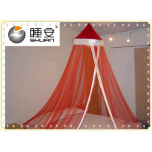 SHUI BAO Red Double Bed Mosquito Net