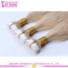 Nova fita de chegada em extensões de cabelo melhor qualidade sem emaranhado brasileiro extensões de cabelo fita