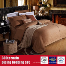 100% Algodão 300TC Satin Piping Hotel Marca Linens