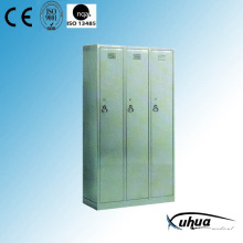 Stainless Steel Hospital 3-Door Dressing Cupboard (U-16)