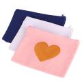 Rosa Geschenk-Canvas-Tasche mit Logo