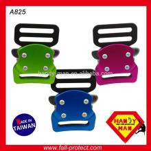 Buckle de mochila pequena colorida de alta resistência