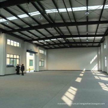 Workshop de estrutura de aço