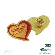 Custom Soft Enamel Logo Lapel Pin with Clasp
