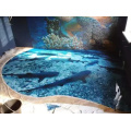 Comfortable and quiet floor  Courts Sports Surface Flooring Athletic Running Track