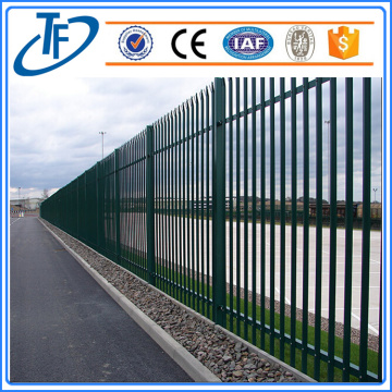 Pagar palisade stainless steel