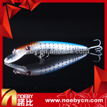 NBL 9242 big round tongue minnow hard fishing bait