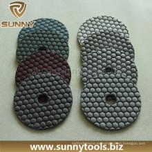 Velcro Respaldo Resina Dry Floor Polishing Pads