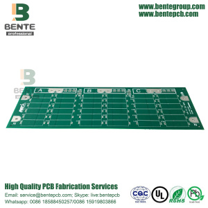 Thick Copper PCB 2Layers TG170 PCB Immersion Silver