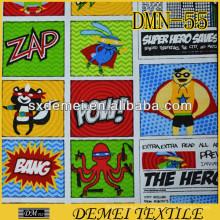 nombres de tejido de poliéster de algodón marca stock de tela de tapicería de tela