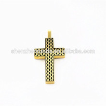 2015 summer stainless steel cross pendant