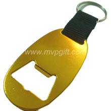 Aluminiumlegierungs-Flaschenöffner Keychain