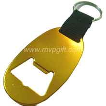 Aluminum Alloy Bottle Opener Keychain