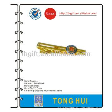 Exército / tropas / forças armadas metal tie pin / clip / bar