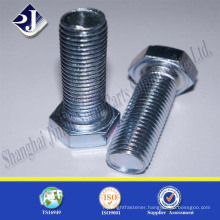 alibaba hardware supplier carbon steel zinc plated bolt