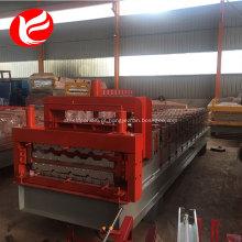 Máquina de formação de rolo de painel de parede de telhado de camadas duplas