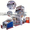 LD / LLDHigh Vitesse Film Soufflé hdpe t-shirt Sacs Machine dans la ligne d'extrusion de tuyau d'extrusion lait machine d'emballage de lait