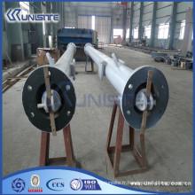 Prix creux des tuyaux en acier structuré pour la structure des dragues (USC4-002)