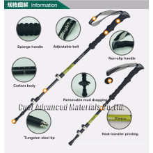 Brand CNER trekking pole, Walking Stick ,Carbon Fiber Hiking Pole, Hiking stick