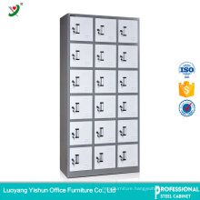 Steel Office Furniture Factory Use 18 Door Locker for Staff Storage