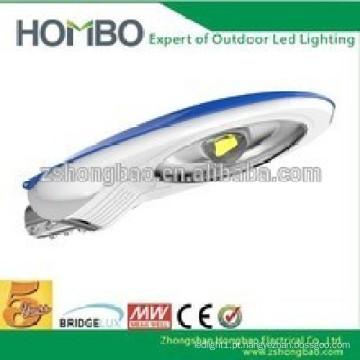 Patenteado Design Cobra Cabeça CE RoHs UL DLC Super brilhante IP65 20W 30W 40W 50W 60W conduziu luzes de rua