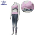 Cheerleading comfortable sports bra for girls