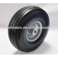 PU foam 10 inch wheel tire 4.10 3.50-4 for wheel barrow