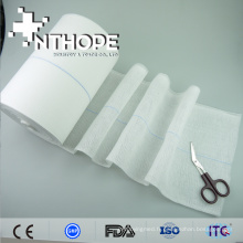 100% coton haute qualité stérilisation absorbant rouleau de gaze usage jetable