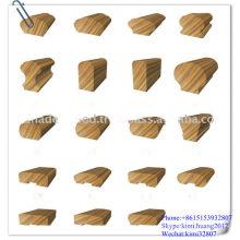 corrimão de madeira