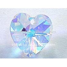 AB Cristal Coração Pingentes, Crystal Beads