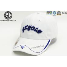 Professionelle Stickerei Golf Sport Cap mit Golf Marker und Pocket