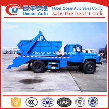 dongfeng multiple usage 6cbm garbage transport vehicle