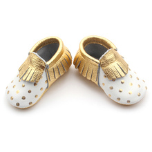 Golden Spot White Baby Moccasin