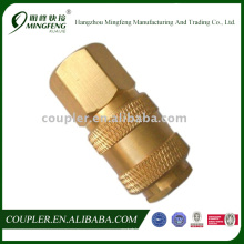 Quick Connecting Malleable Hose Fitting