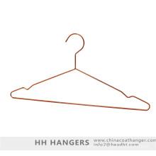 Cintre métallique cuivre laiton et bas Clips Hanger