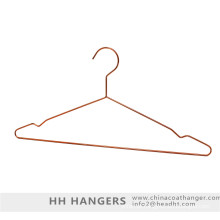 Gancho de roupa de fio de Metal de bronze cobre e cabide de clipes de fundo