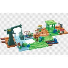 Blocks Game Train Set Track Toy
