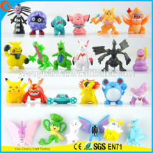 Cute Fashion Fashion Style Pokemon Cartoon Toy Stuffed Animal 144 desenhos Mini Doll Capsule Toy