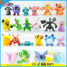 Милая форма Модный Стиль Покемон мультфильм игрушки чучела животных Кукла 144 конструкции мини капсула игрушки