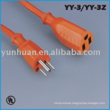 Extension cords cable outdoor indoor use electric wire nema USA type
