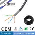 SIPU haute qualité imperméable utp cat5e câble croisé
