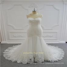 Vestido de boda nupcial caliente atractivo del cordón de la sirena