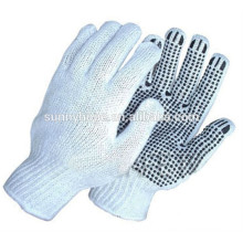 pvc gloves dotted cotton knitted gloves factory gloves