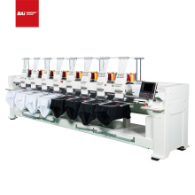 BAI  automatic 8 heads multi-head function computerized garment cap embroidery machine with price low than ricoma brother