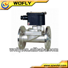 Pneumatic 2 Way Direct Acting Gas Solenoid Valve
