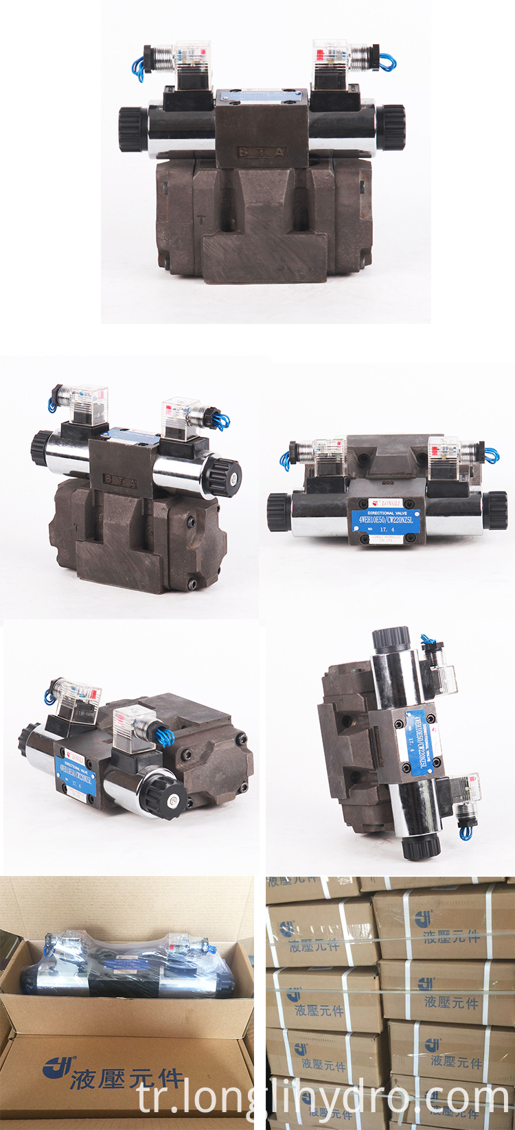 4WEH10 Solenoid Directional Valves