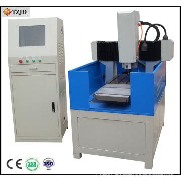 Máquina do router do CNC da gravura do metal do molde da sapata