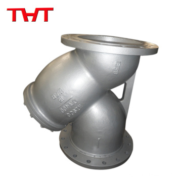 THT Y type Strainer filter bronez brass body with screen